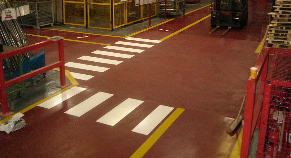 Line Marking For Industrial Retail Amp Commercial Flooring